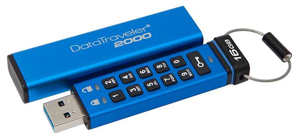 wachtwoord beveiligde USB-stick